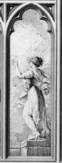 Fig. 6. 'Hope', west window, New College.