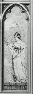 Fig. 8. 'Prudence', west window, New College.