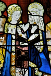 Fig. 1. The Visitation, 1498, Church of All Saints, Gresford