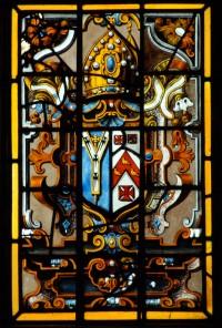 Fig. 5. Arms of Archbishop Sancroft at Mereworth.