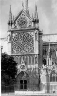 Fig. 3. Rose window at Notre Dame, Paris