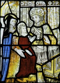 Fig. 3. Gresford, Church of All Saints: the Presentation of the Virgin Mary in the Temple, 1498.