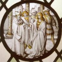 Fig. 2. The Prodigal Son asking for his inheritance, Bruges, D. de Graef Collection.