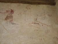 Fig. 15: Pilgrims with votive offerings, Bradwell Abbey, Bucks.