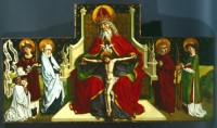 Fig. 1. The Trinity altarpiece attributed to Peter Hemmel von Andlau.