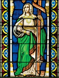 Fig. 3. Church of St. Ann, Brooklyn (now in The Metropolitan Museum of Art, New York): the Personification of Faith, c.1869, by Henry E. Sharp, after conservation treatment. (photo: ©The Metropolitan Museum of Art)