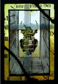 Fig. 2. The Tyttenhanger sundial, reversed and enhanced to reveal hidden detail.