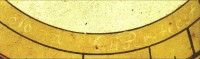 Fig. 8. Signature 'John Oliver fecit' in the matt of Northill sundial A. (photo © Mike Cowham)