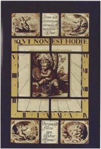 Fig. 9. Nun Appleton dial by Henry Gyles (1670), following conservation by York Glaziers' Trust