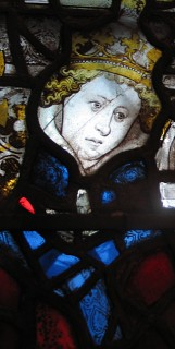 Fig. 3. York, York Misnter: detail from the Great East Window.