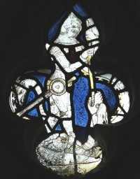 Fig. 12. North Tuddenham, church of St Mary: St George and the Dragon, c.1420–30. (c) M. Dixon