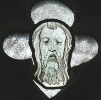 Fig. 13. North Tuddenham, church of St Mary: head of God the Father, c.1420–30. (c) M. Dixon.