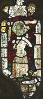 Fig. 20. North Tuddenham, church of St Mary: St Margaret scourged, c.1420–30. (c) M. Dixon
