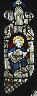 Fig. 25. North Tuddenham, church of St Mary: St Edmund Rich, c.1420–30. (c) M. Dixon