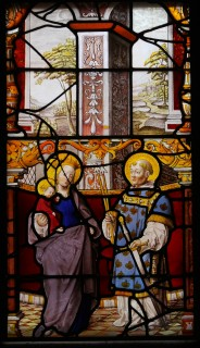 Fig. 1. Blickling Hall, formerly Steinfeld Abbey: the Virgin Mary and St Potentinus. © Mike Dixon