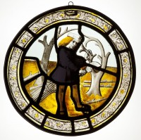 Fig. 1. Roundel depicting the Labour of the Month for ?March.