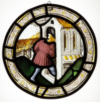 Fig. 2. Roundel depicting the Labour of the Month for ?April.