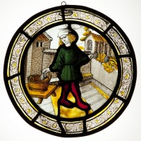 Fig. 3. Roundel depicting the Labour of the Month for ?September.