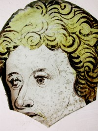 Fig. 2. Part of a face from the destroyed Coventry Cathedral.