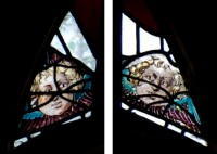 Fig. 4. Cherub heads at Moor Monkton, Yorkshire.