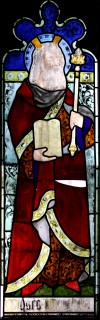 Fig. 3. Sherborne Abbey, wI 2d, Moses.
