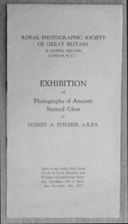 Fig. 1. Cover of the catalogue for the 1927 exhibition.