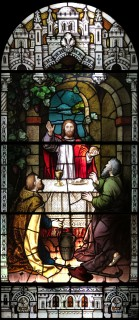 Fig. 2. Christ is recognized at Emmaus.