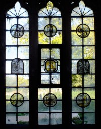 Fig. 1. St Mary's Church, Ickworth, Suffolk: window nIV.
