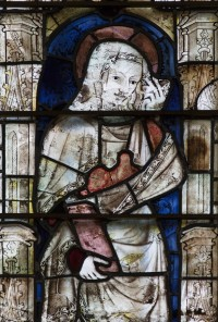Fig. 4. Glass from New College Chapel. © Roger Rosewell