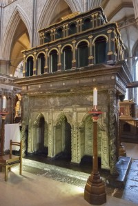 Fig. 1. The shrine of St Edward the Confessor at Westminster Abbey.