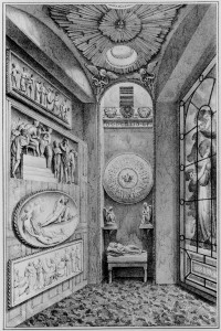 Fig. 2. Engraving of the Tivoli Recess, 1835. Image courtesy Soane Museum