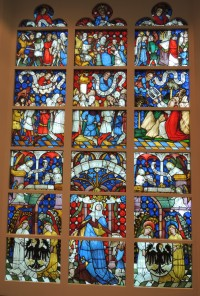 Fig. 1. The panels from the Ten Commandments cycle at the Museum-Schnütgen.