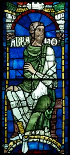Fig. 1. Abraham. © Dean & Chapter of Canterbury Cathedral.