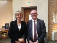 Fig. 4. Anna Eavis, Project Director for the British CVMA, and Christopher Parkinson, photographer working on the county of Essex.