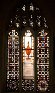 Fig. 1. Window nVI, St Martin-cum-Gregory