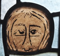 Fig. 4. Twelfth-century head, Fledborough.