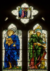 Fig. 1. Burne-Jones glass by Morris & Co. at St Martin, Brampton, 1880–81, window nIII.