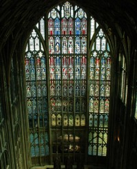 Fig. 1. The Great East Window of Gloucester Cathedral.