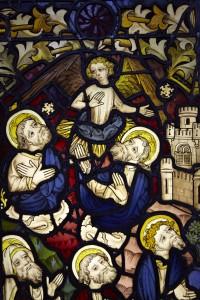 Fig. 1. The Miraculous Assembly of the Apostles, c.1450–55, 955 x 535cm, The National Trust (Felbrigg Hall, Norfolk), on loan to the church of St Peter Mancroft, Norwich