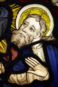 Fig. 2. Detail, The Miraculous Assembly of the Apostles, c.1450–55, 955 x 535cm, The National Trust (Felbrigg Hall, Norfolk), on loan to the church of St Peter Mancroft, Norwich