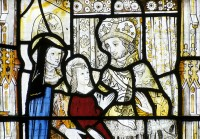 Fig. 2. Detail from a panel from Gresford (Wales)