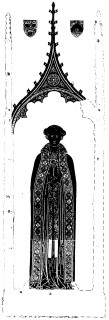 Fig. 1. Brass of Thomas Patesley, Great Shelford, Cambridgeshire. Reproduced by permission of Dr Martin Stuchfield