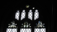 Fig. 3. Great Shelford Church, window nVII: medieval glass. Reproduced by permission of the author
