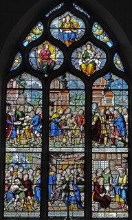 Fig. 1. Messing, All Saints: east window by Abraham van Linge.