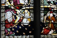 Fig. 2. Margaretting, St Margaret's: detail of the east window.