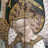 Fig. 1. Detail of the screen at Ranworth: St Michael.