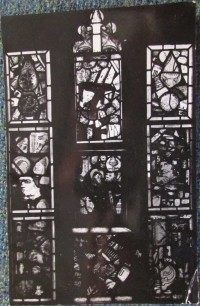 Fig. 3. Photograph of the final ten panels (nine panels plus one light head) acquired by Ward, from A Mirror of the Passing World. (Reproduced with permission of the Abbey Museum of Art and Archaeology)