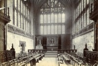 Fig. 6. Photograph by Salmon, probably c.1880, showing the Lady Chapel of Winchester Cathedral. (Published with the permission of the Dean and Chapter of Winchester Cathedral)