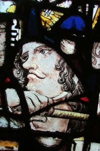 Fig. 20. Head of the scourger from window SIX in the Abbey Church, Caboolture. (Photograph: Michael Strong, Abbey Museum of Art and Archaeology)