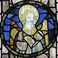 Fig. 1. Angel with chalice, parish church of St John, Glastonbury, Somerset.